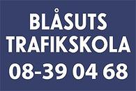 Blåsuts Trafikskola logo