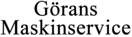 Görans Maskinservice logo