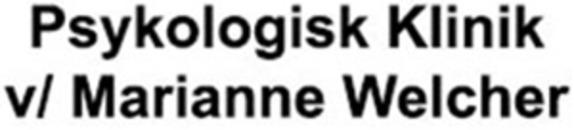 Psykolog klinik v/ Marianne Welcher logo