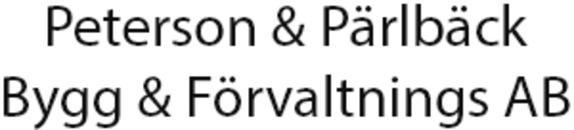 Peterson & Pärlbäck Bygg o. Förvaltnings AB logo