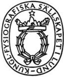 Kungliga Fysiografiska Sällskapet i Lund logo