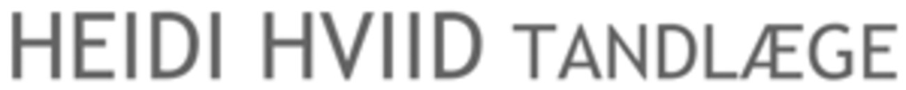 Tandlæge Heidi Hviid logo