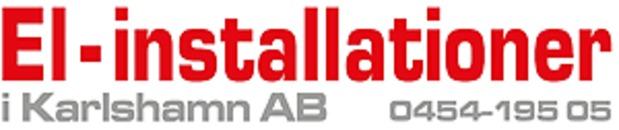 El-installationer i Karlshamn AB logo