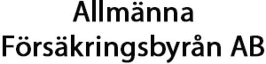 Allmänna Försäkringsbyrån AB logo