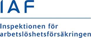 Inspektionen för arbetslöshetsförsäkringen, IAF logo