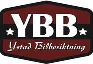 YBB Ystad Bilbesiktning logo