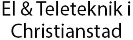 El & Teleteknik i Christianstad logo