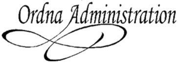 Ordna Administration logo