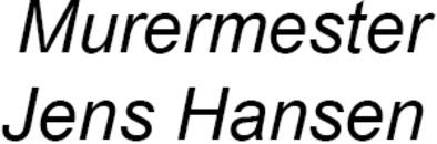 Murermester Jens Hansen logo