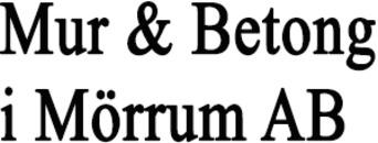Mur & Betong i Mörrum AB logo