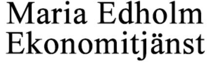 Edholm Ekonomitjänst AB, Maria logo
