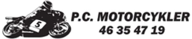 P. C. Motorcykler logo
