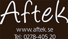Aftek Te & Kryddor logo