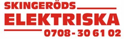 Skingeröds elektriska logo