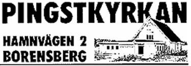 Pingstförsamlingen Borensberg-Klockrike logo