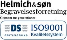Helmich og Søn Begravelsesforretning logo