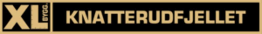XL-BYGG Knatterudfjellet logo