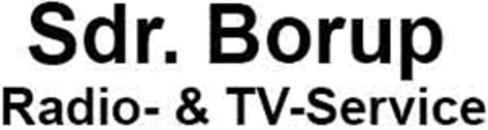 Sdr. Borup Radio- & TV-Service logo