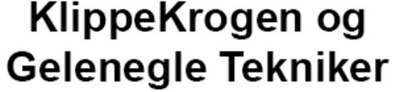 KlippeKrogen og Gelenegle Tekniker logo
