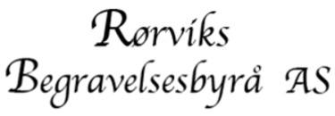 Rørviks Begravelsesbyrå AS logo