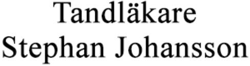 Tandläkare Stephan Johansson logo