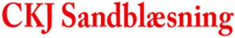 C.K.J. Sandblæsning logo