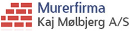Murerfirma Kaj Mølbjerg A/S logo