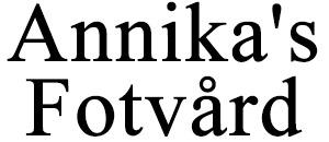 Annika's Fotvård logo