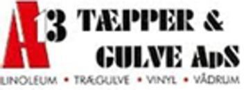 A13 Tæpper & Gulve ApS logo