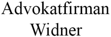 Advokatfirman Widner logo