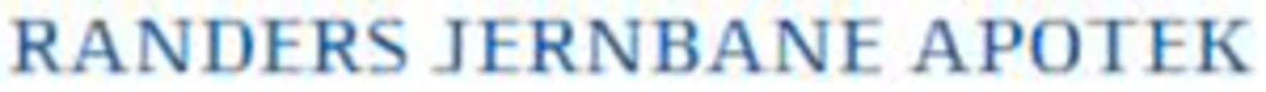 Jernbane Apoteket Randers logo