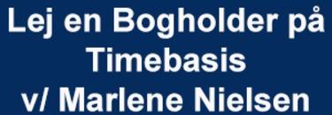 Lej en Bogholder på Timebasis v/ Marlene Nielsen logo
