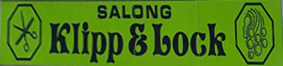 Salong Klipp & Lock logo