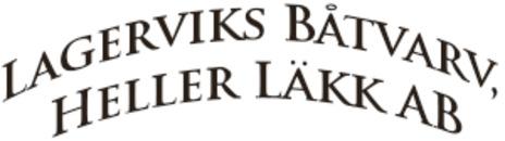 Lagerviks Båtvarv, Heller Läkk AB logo