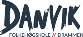 Danvik Folkehøgskole Internasjonalt Mediesenter logo