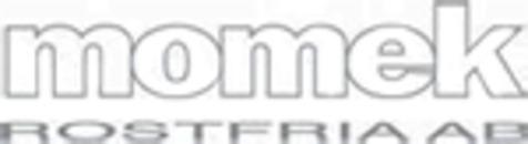 Momek Rostfria AB logo