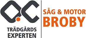 Trädgårdsexperten / Såg & Motor Broby AB logo