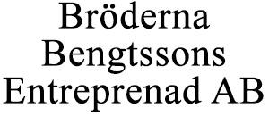 Bröderna Bengtssons Entreprenad AB logo