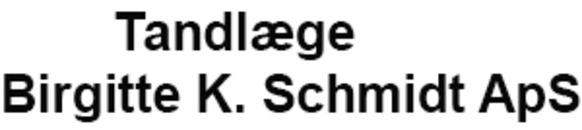 Tandlæge Birgitte K. Schmidt ApS logo