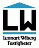 Lennart Wiberg Fastigheter logo