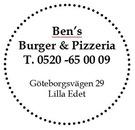 Ben's Burger & Pizzeria logo