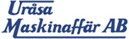 Uråsa Maskinaffär AB logo