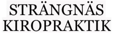 Strängnäs Kiropraktik logo