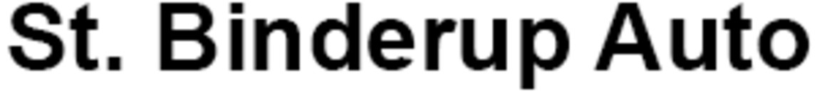 St. Binderup Auto I/S logo
