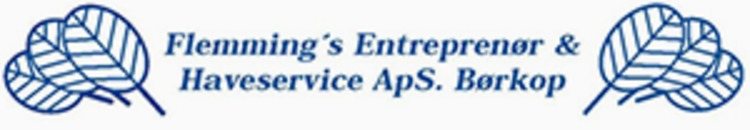 Flemmings Entreprenør & Haveservice ApS logo