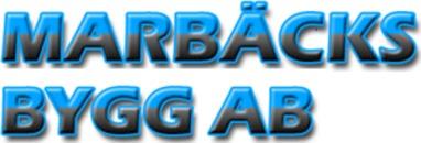 Marbäcks Bygg AB logo