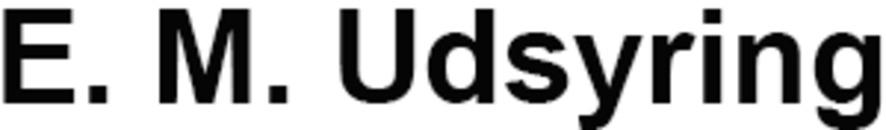 E. M. Udsyring logo