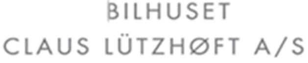 Bilhuset Claus Lützhøft A/S logo