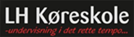 LH's Køreskole logo