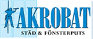Akrobat Städ & Fönsterputs logo